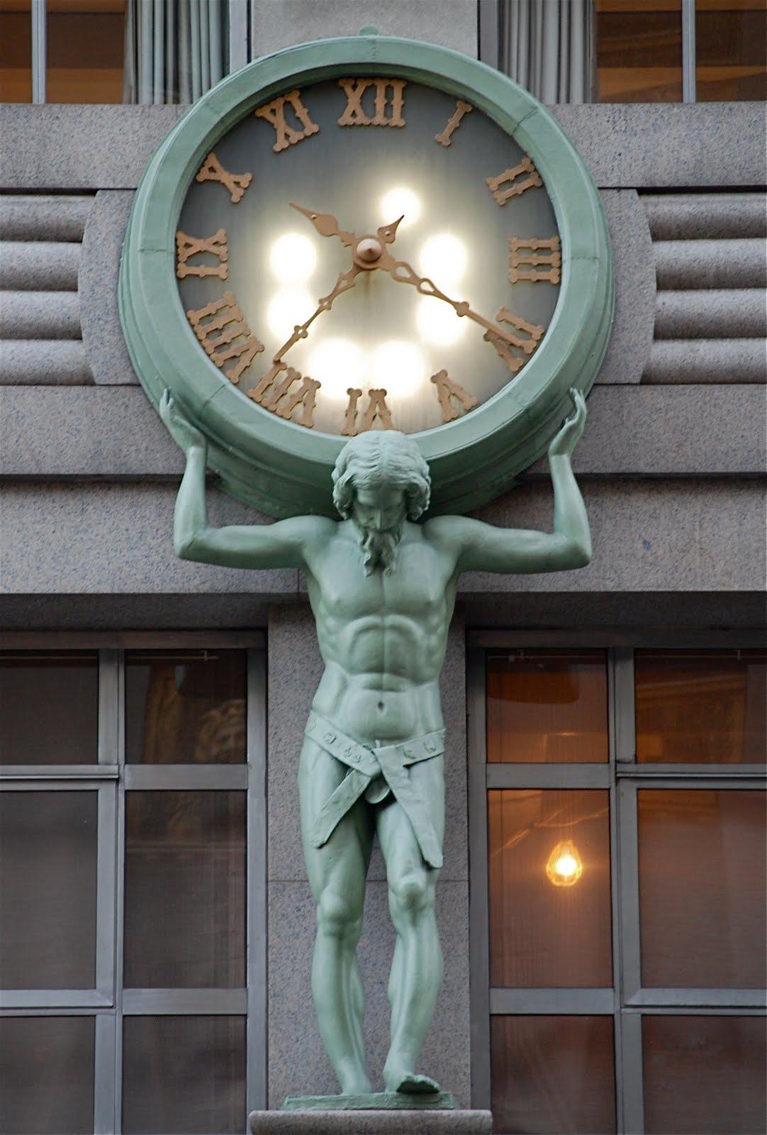 Nyc Nyc Atlas Clock Of Tiffany Amp Co