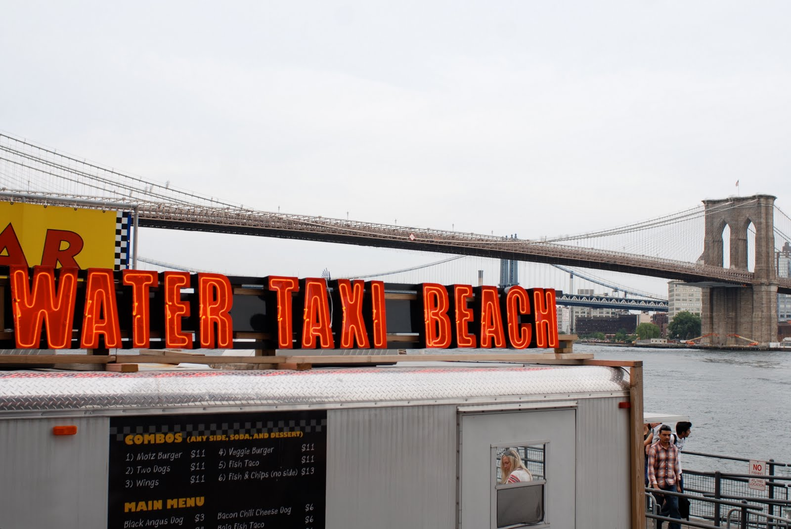 Water Taxi Beach U0026 Beer Garden South Street Seaport Is An  18,000 Square Foot