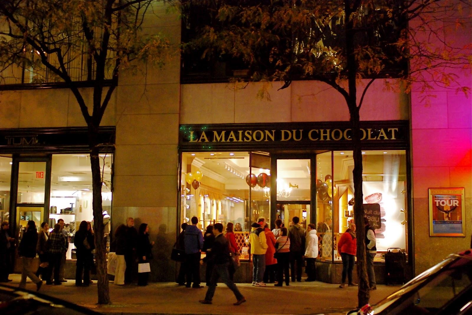 Nyc nyc la nuit du g teau la maison du chocolat - La maison du danemark boutique ...