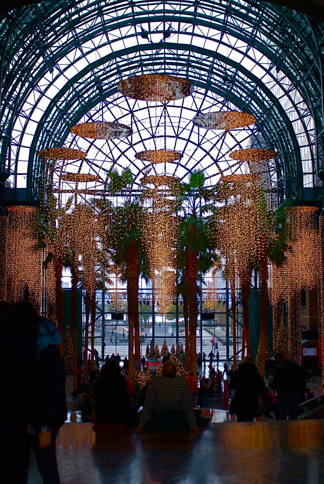 nyc nyc world financial center winter garden u0027s festival of