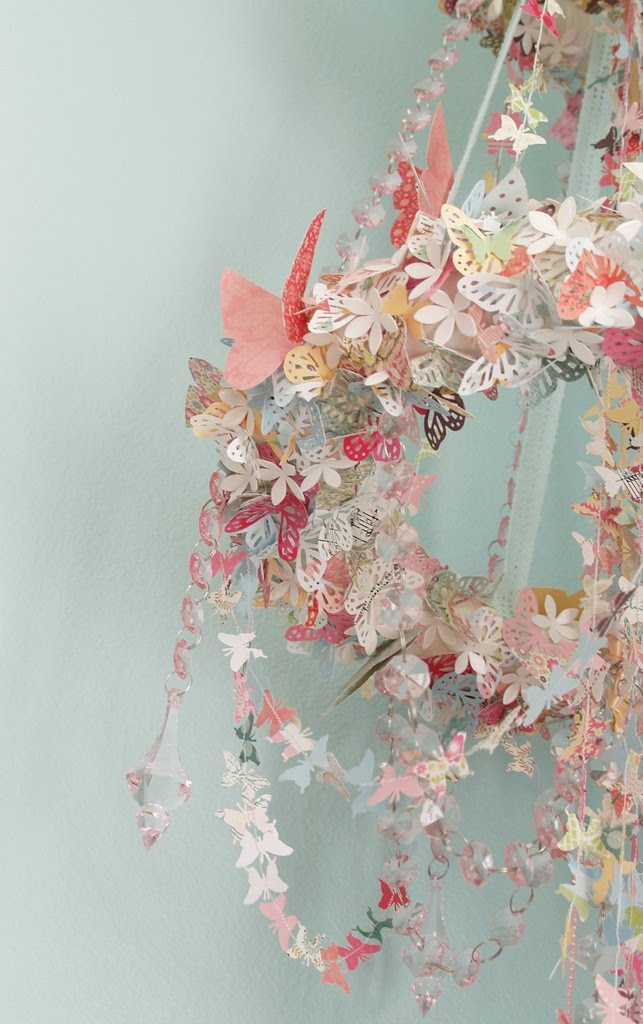 butterfly chandelier mobile. Black Bedroom Furniture Sets. Home Design Ideas