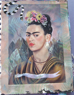 Frida with Ferns
