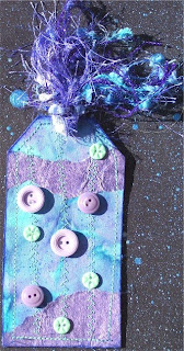 Carolyn - Turquoise/Purple