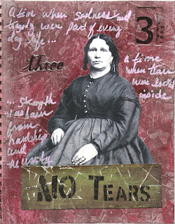 No Tears -- A time when sadness and tragedy were part of everyday life ... a time when tears were locked inside ... strength was born from hardship and necessity.