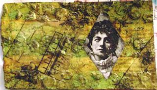 Textured Postcard