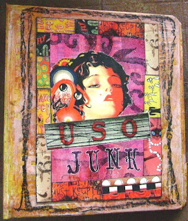 Junk Mail Journal Cover