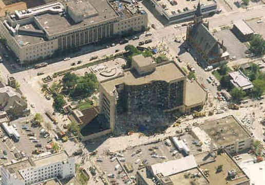 Correction: AP Was There-Oklahoma City Bombing story - US News