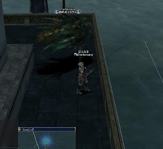 釣り、ギラン神殿付近