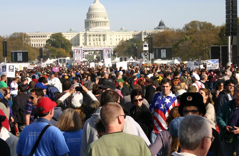 Political Comedy Rally