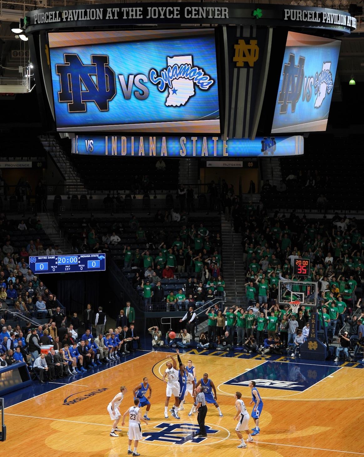 U of Notre Dame Basketball