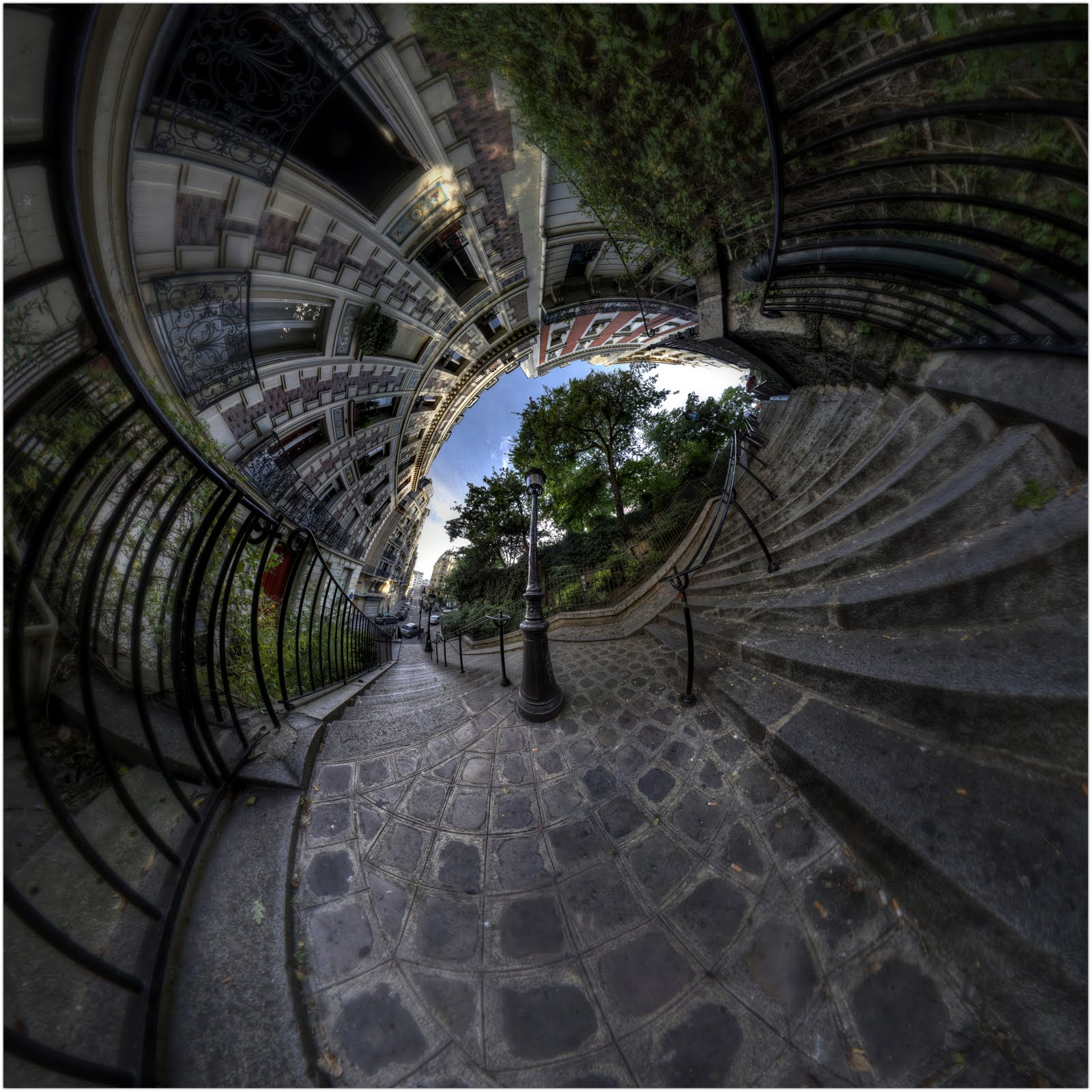 inception paris panorama 360 hdr