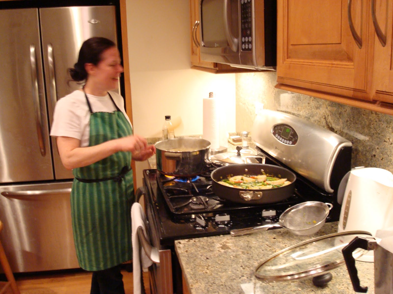 Home Kitchen Cooking The Jewel Box® Home Cooking In A Small Kitchen Monday Night Dinner