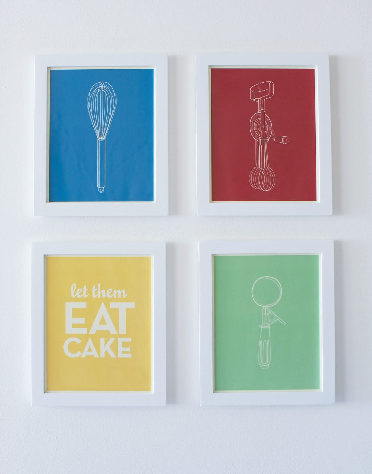 Mini Posters Of The Kitchen Series. The More The Merrier, Right?