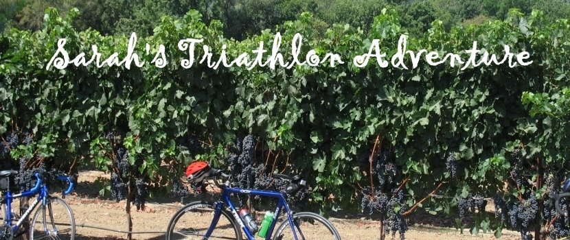 Sarah&#39;s Triathlon Adventure