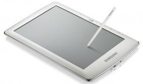 Samsung presenta su primer e-book