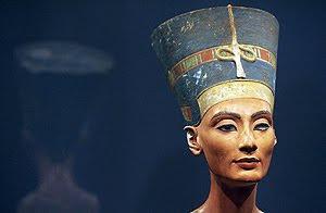 Busto de Nefertiti. (Foto: AFP)