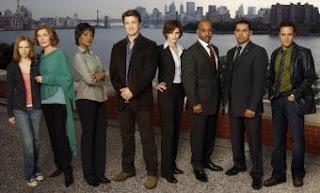 El reparto de la serie Castle, que emite Cuatro