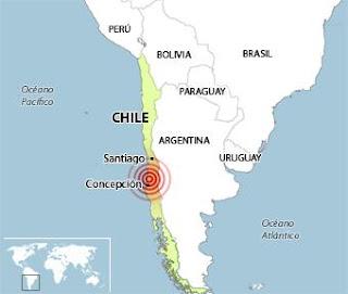 Un fuerte terremoto sacude el sur de Chile