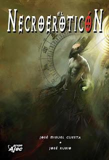 """""""Necroeroticón"""" de los autores José Miguel Cuesta y José Rubio"""