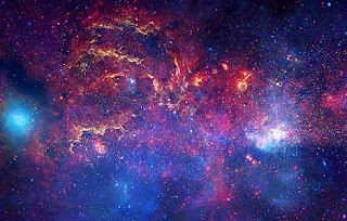 Imagen del centro de la Vía Láctea captada por el telescopio espacial Hubble. AP, NASA