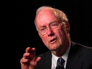 El premio Nobel de Física Charles Townes