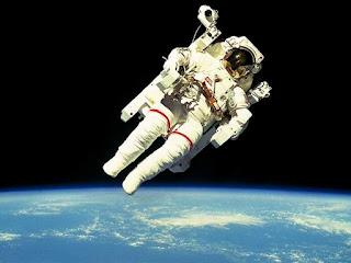 NASA - Space Shuttle Challenger Astronaut McCandles