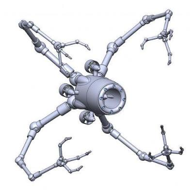 Robot submarino con sentido del tacto. Foto: Fraunhofer-Gesellschaft
