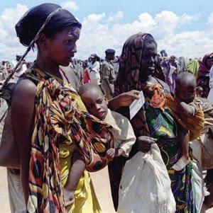 Refugiados somalíes, en un campo de Dadaab. Foto: AP