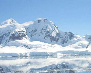 Crean un mapa tridimensional de la capa de hielo subterránea de la Antártida