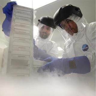 Investigadores del centro de células madre de Granada- M. ZARZA
