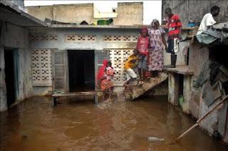 Más de medio millón de afectados por inundaciones en África occidental