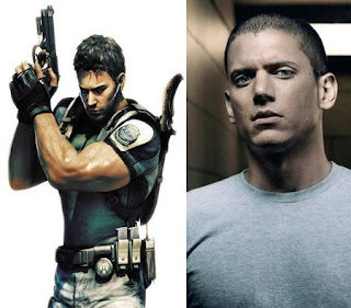 Wentworth Miller (Prison Break) como Chris Redfield
