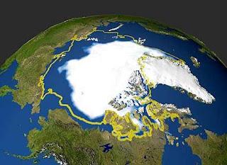 El Artico se heló antes de lo creído