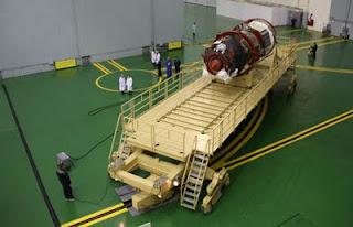 Una nave rusa Soyuz. AFP