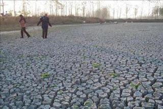 La sequía afecta a mas de un millón de personas en China. EFE