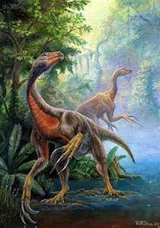 Beipiaosaurus el animal con las plumas mas primitivas