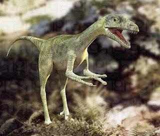 Compsognathus, el dinosaurio mas veloz