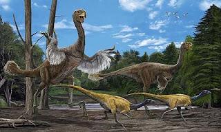 Gigantoraptor: Dinosaurio gigante con plumas