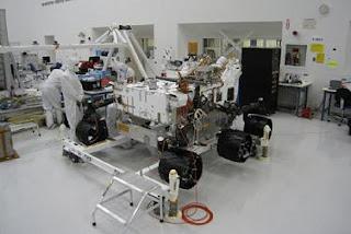 El robot Curiosity viajará a Marte con nuevas ruedas. NASA