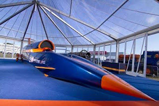 Bloodhound Supersonic Car. | Nick Haselwood