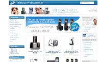 Telefoon webwinkel website