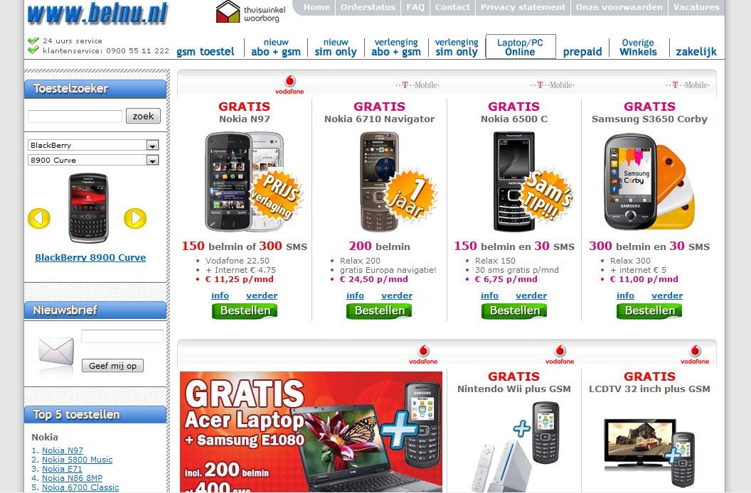 Prijzen Vergelijk | Prijzen Vergelijk GSM , Telefoon, Verzekering ...: prijzen-vergelijk.blogspot.com/2009/11/telefoon-vergelijken...