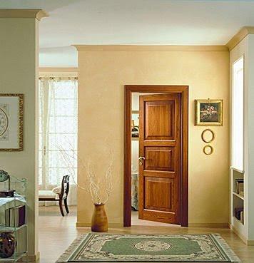 Homenjoy puertas for Puertas madera maciza