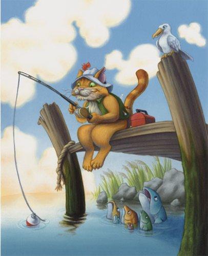кот рыбак сказка