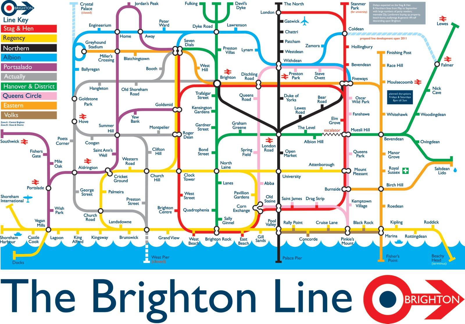 The Brighton Line Northern Light
