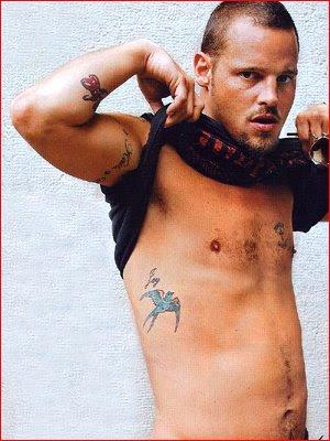 Tattoo Model Justin Chambers