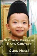 @ Si Comel Berbaju Raya Contest