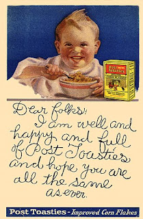 vintage cereal ad