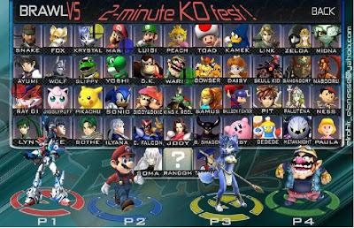 Super Smash Bros vs Super Smash Flash