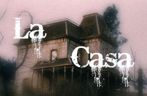 """Bienvenido...a """"La casa"""".  Tu casa :)"""